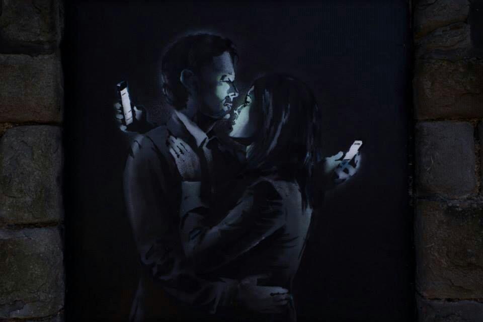 Imagen del artista Bansky