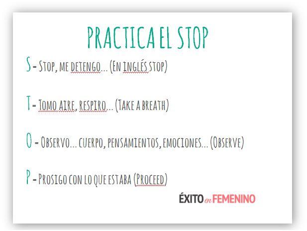 Mindfulness - Exito en Femenino Ejercicio